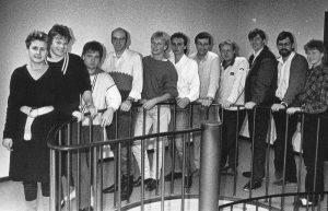 Ansatte Radio Øst 1984